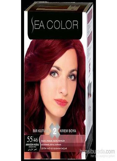 Sea Sea Color 2 Li Saç Boyası 55-46 Kırmızı
